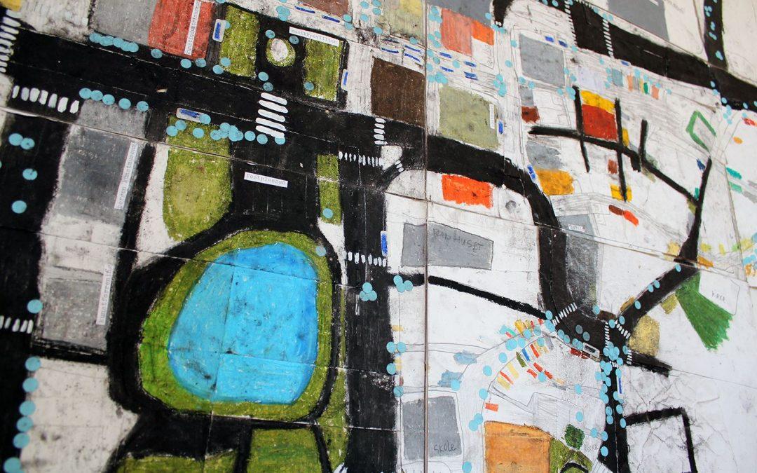 Her bor jeg! Fellestegning – Barnas Kunstverksted