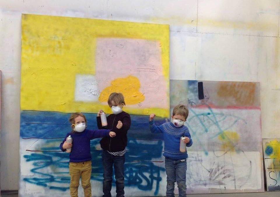 Spraytime! Barnas kunstverksted